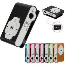 2021 New Stylish Mirror Portable MP3 Player Mini Clip MP3 Player Walkman Sport Mp3 Music Player Drop