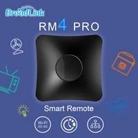 BroadLink     telecommande universelle IR RF RM4 Pro pour maison connectee  controleur pour Air-con  TV  commutateur  etc   compatible avec Alexa et Google Assistant maison intelligente