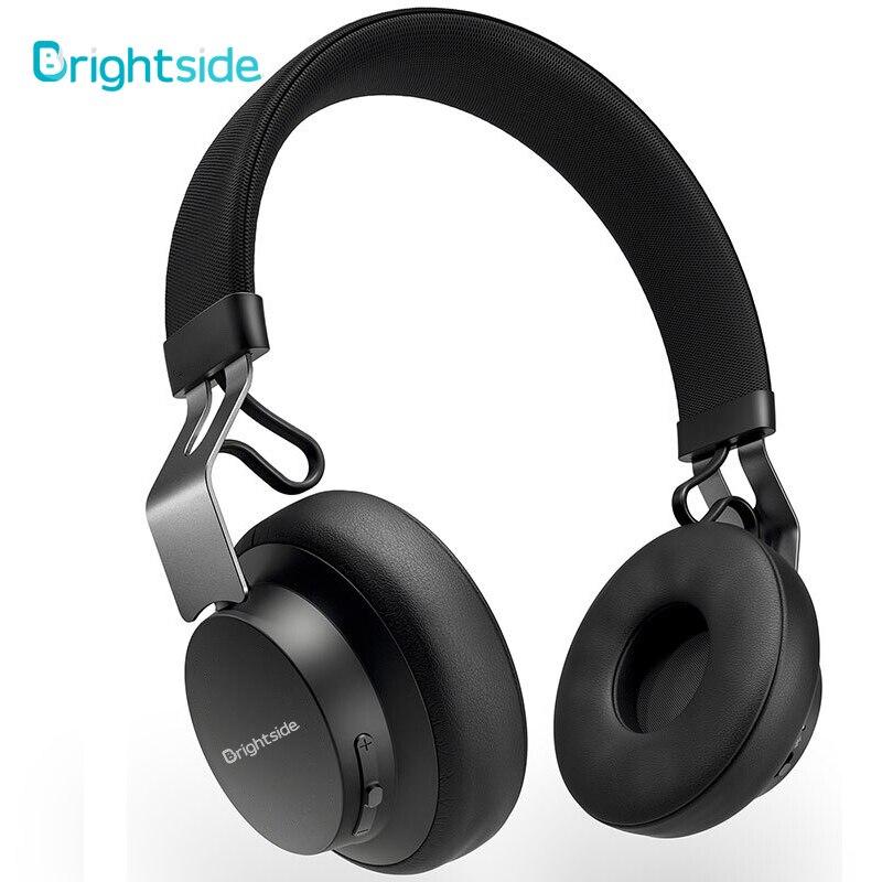 Brightside kablosuz Bluetooth kulaklık derin bas kulaklık kulaklık kulaklık Stereo FM TF kart ile Ipad cep telefonu için PC