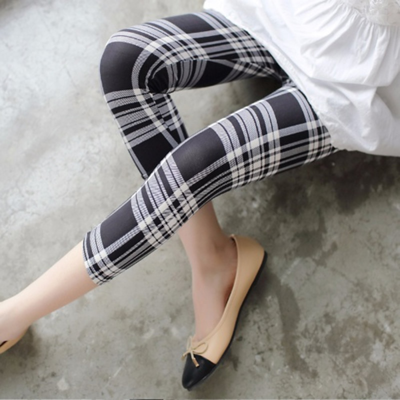 NDUCJSI, mallas de entrenamiento de verano para mujer, pantalones cortos sexys para mujer, pantalones pitillo con estampado de cuadros para mujer, mallas de Fitness de talla grande XXL