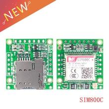 SIM800C GPRS GSM Placa de desarrollo de módulo inalámbrico SIM800 USB a TTL Módulo 5-18V para Arduino con 2,54 pin de fila