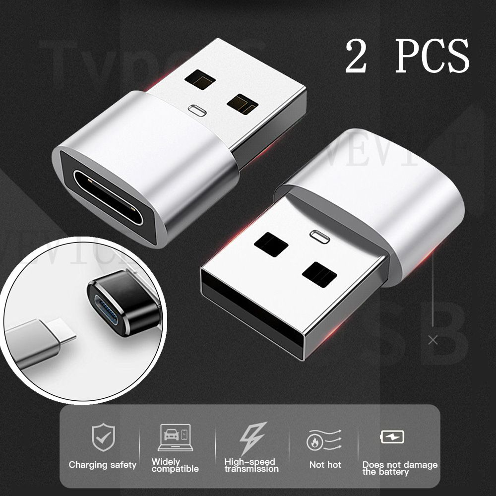 USB Type C OTG Adapter USB C Male To Micro USB Female Cable Converters For Macbook For Samsung S21 For Xiaomi USB To Type-c OTG