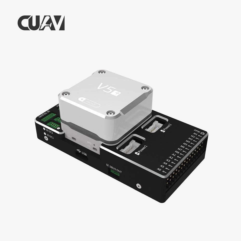 CUAV piloto automático drone controlador de vuelo V5 + FC con NEO V2 pro puede GPS para FPV Pixhawk RC Drone Quadcopter helicóptero