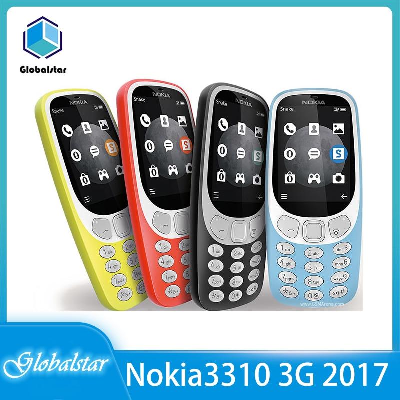 هاتف نوكيا 3310 3G (2017) مجدد-هاتف محمول أصلي 2.4