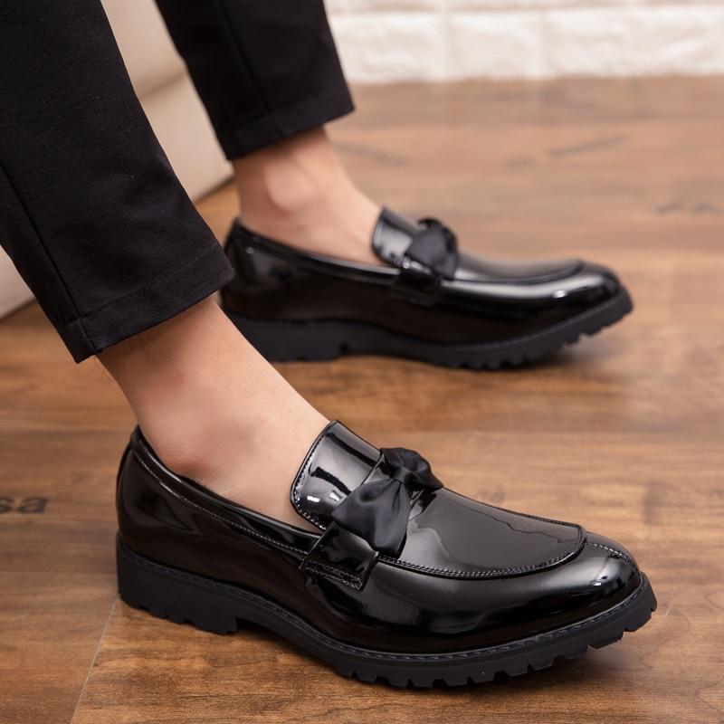 Schuhe Männer Müßiggänger Klassische Männlich Leder Mokassin Schuhe Slip On Flache Fahr Boot Schuhe Klassischen Männlichen Gommino Zapatos