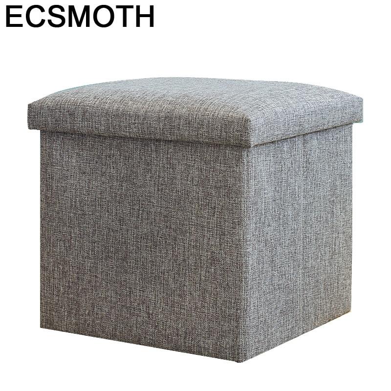 Sgabello-silla Plegable De salón para niños, Taburete De pata De mueble