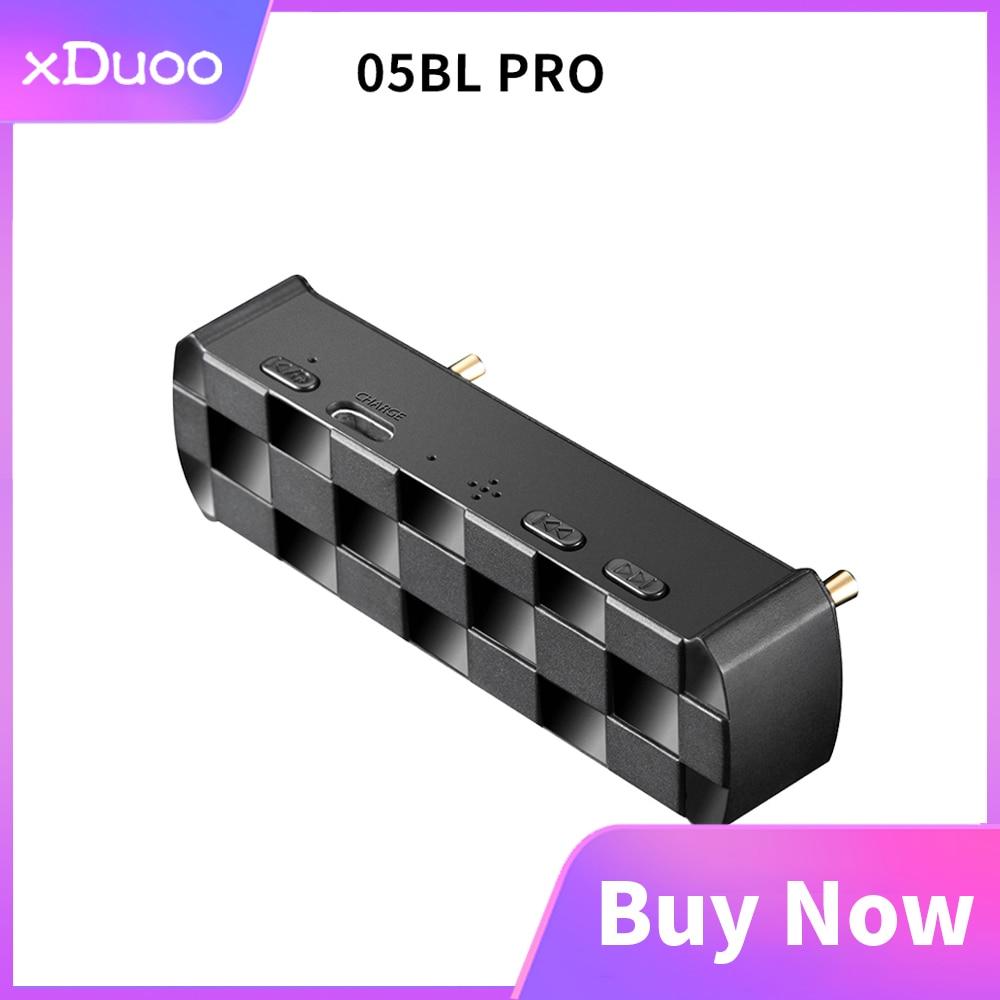 XDUOO 05BL PRO Bluetooth digital plataforma giratoria para amplificador de auriculares XD05 Plus 5,0 APTX_LL/APTX_HD/tecnología LDAC