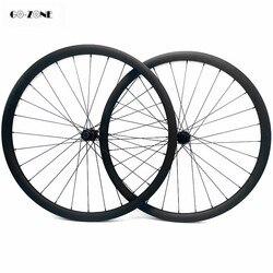 27.5er simétrico 35x25mm xc/am tubeless mountain bike rodas de carbono dt240s 110x15 148x12 mtb rodado de carbono pilar 1420 raios