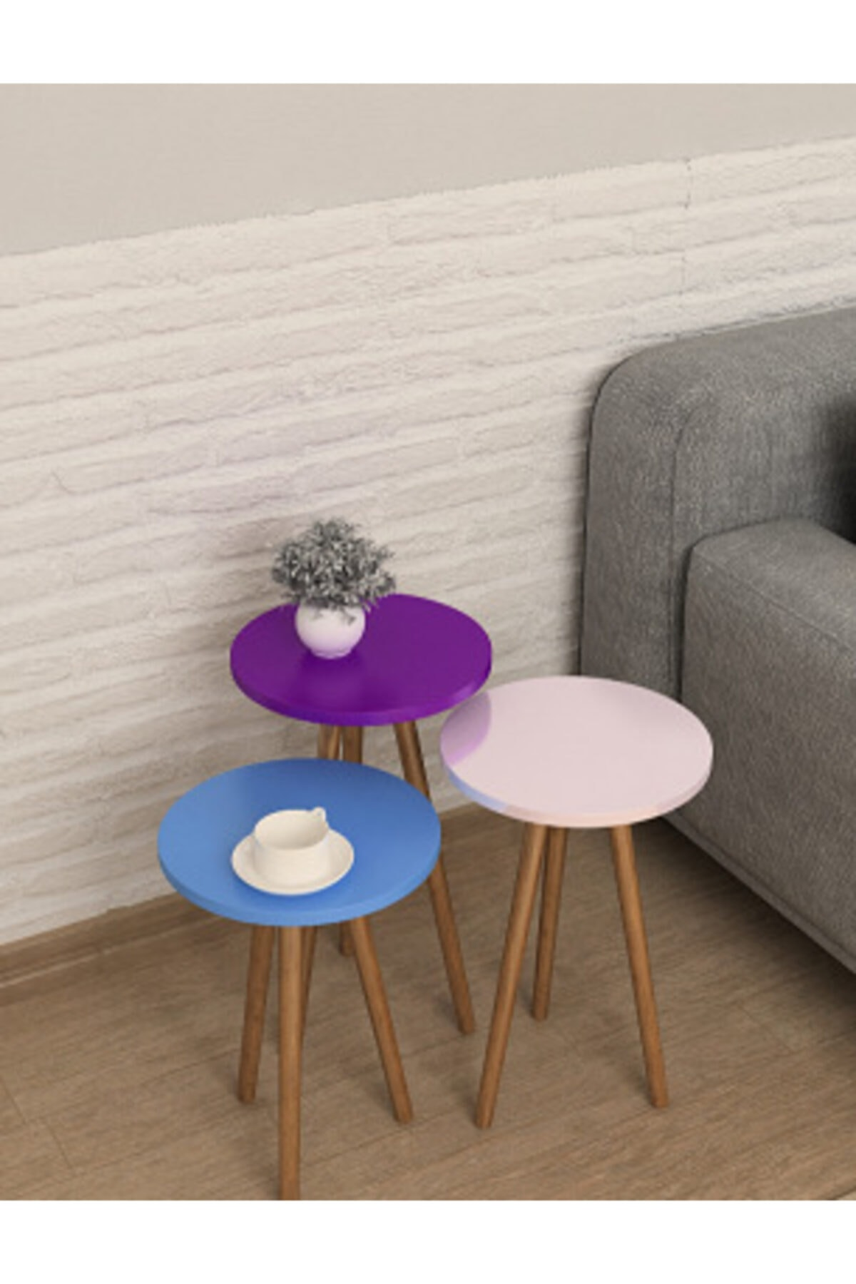 Misante Zigon Фиолетовый Небесно-Голубой Жемчужный Розовый