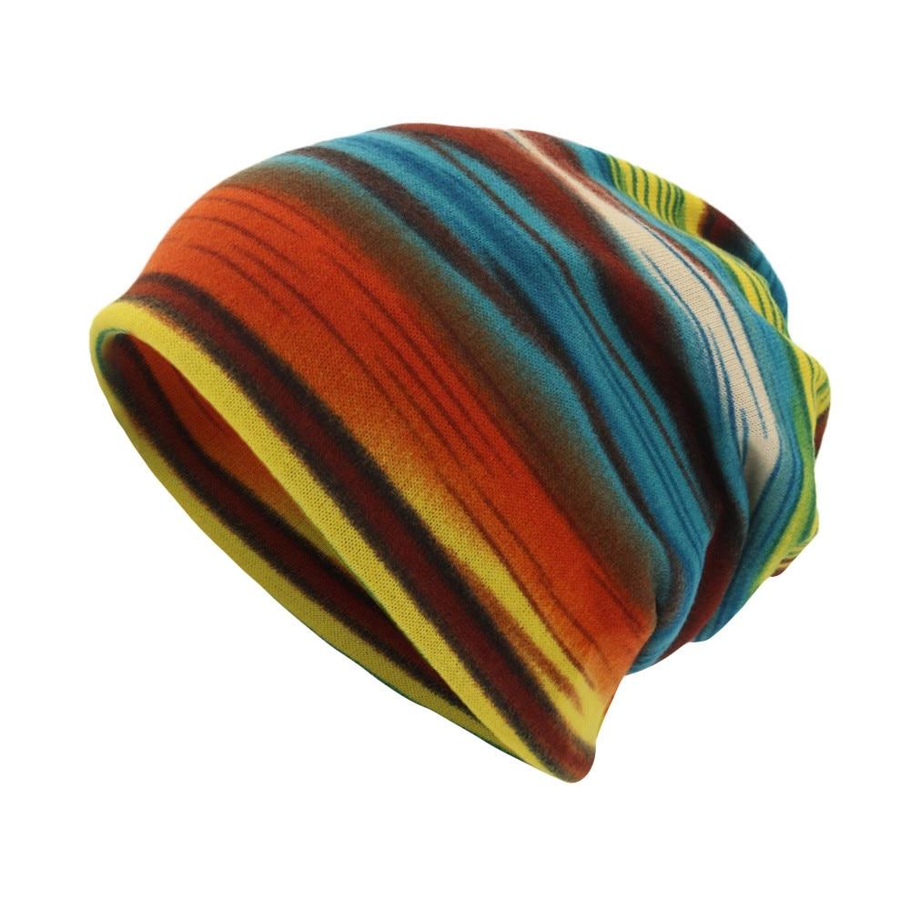 Mais vendido unisex tarja impressão cachecol gorro boné casaul ao ar livre conversível à prova de vento chapéus suporte atacado e dropshipping