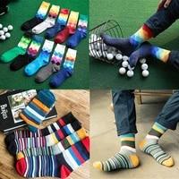 321pair compression classic men socks gentleman high quality colorful print long socks business dress cotton socks for male