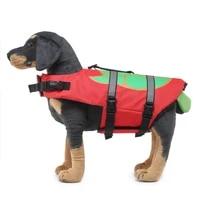 pets swimsuit dog life jacket bulldog husky dog costume reflective s m l dog sea turtles pattern vest 3 size summer dog clothes