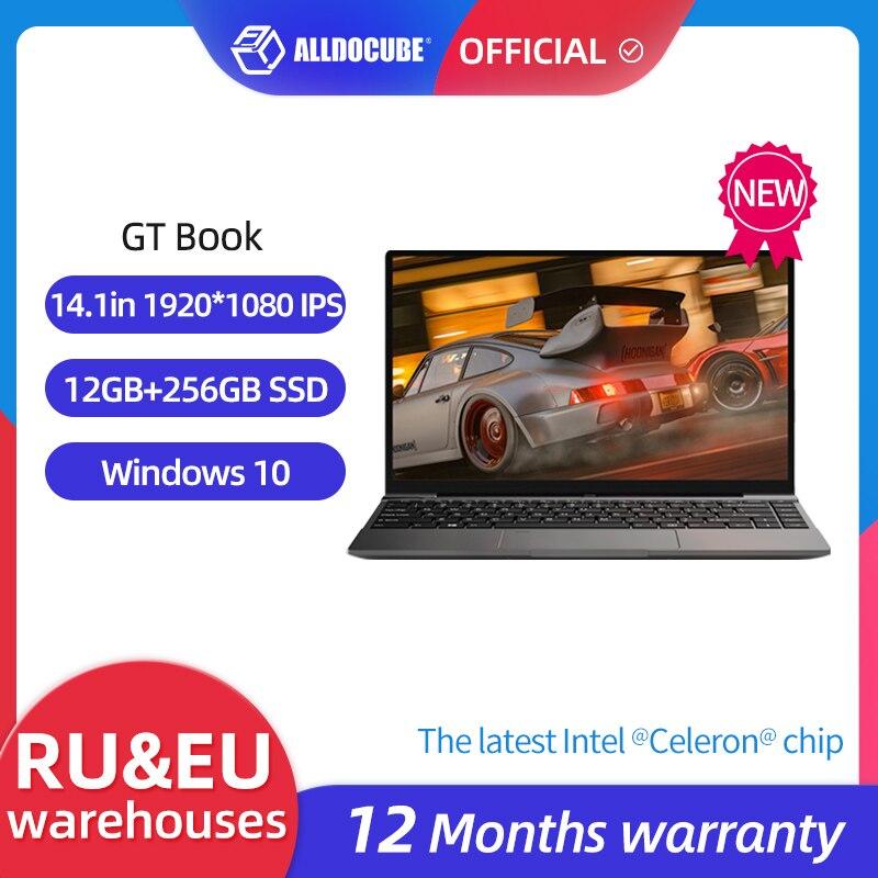 Review ALLDOCUBE GT Book Windows 10 Laptops 12GB LPDDR4  256GB SSD  Intel Celeron N5100 1920×1080 IPS Notebook 14.1 inch WiFi6