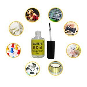 20ML 502 Glue Dispergator Debonder Remover Cleaning Quick-drying Instant Adhesive Liquid Tool