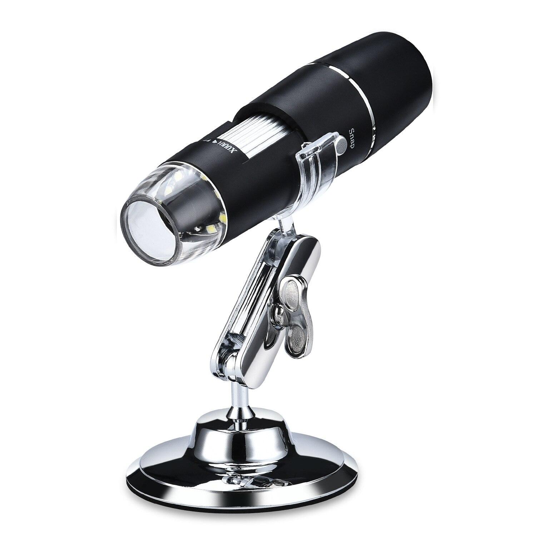 W04 HD واي فاي منظار رقمي لاسلكي ، عدسة مكبرة إلكترونية ، كاميرا ، مشغل فيديو