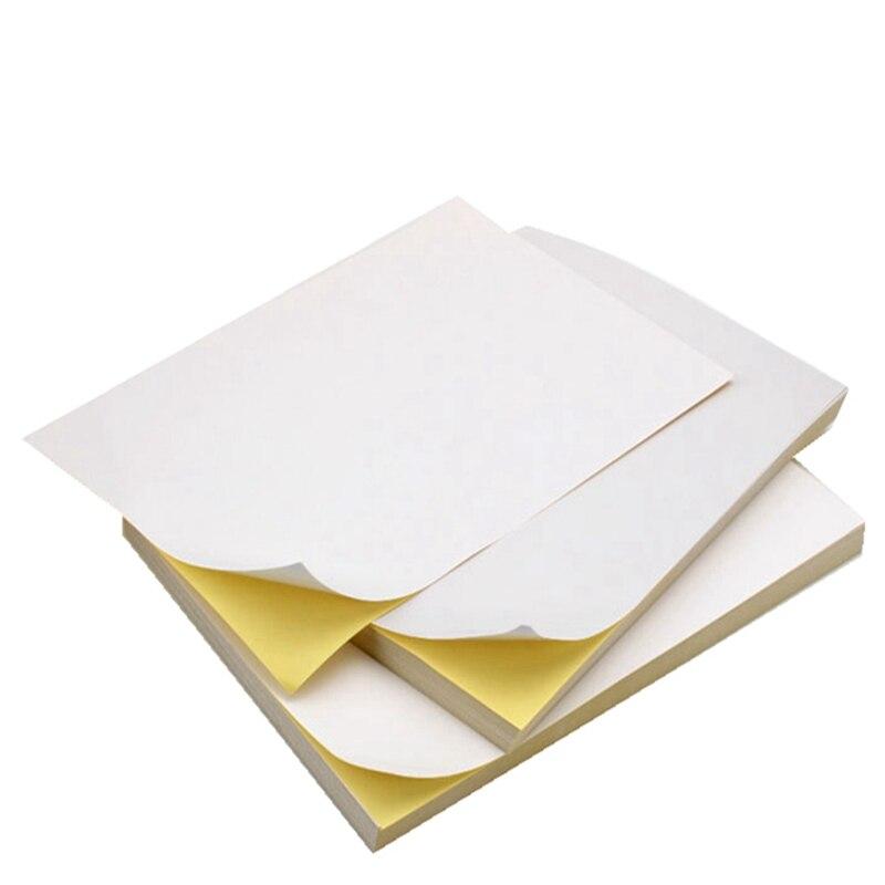 Лазер А4, этикетка для отправки, материал, этикетка, бумага для идентификации отметки, Мультяшные простые наклейки, клейкая бумага