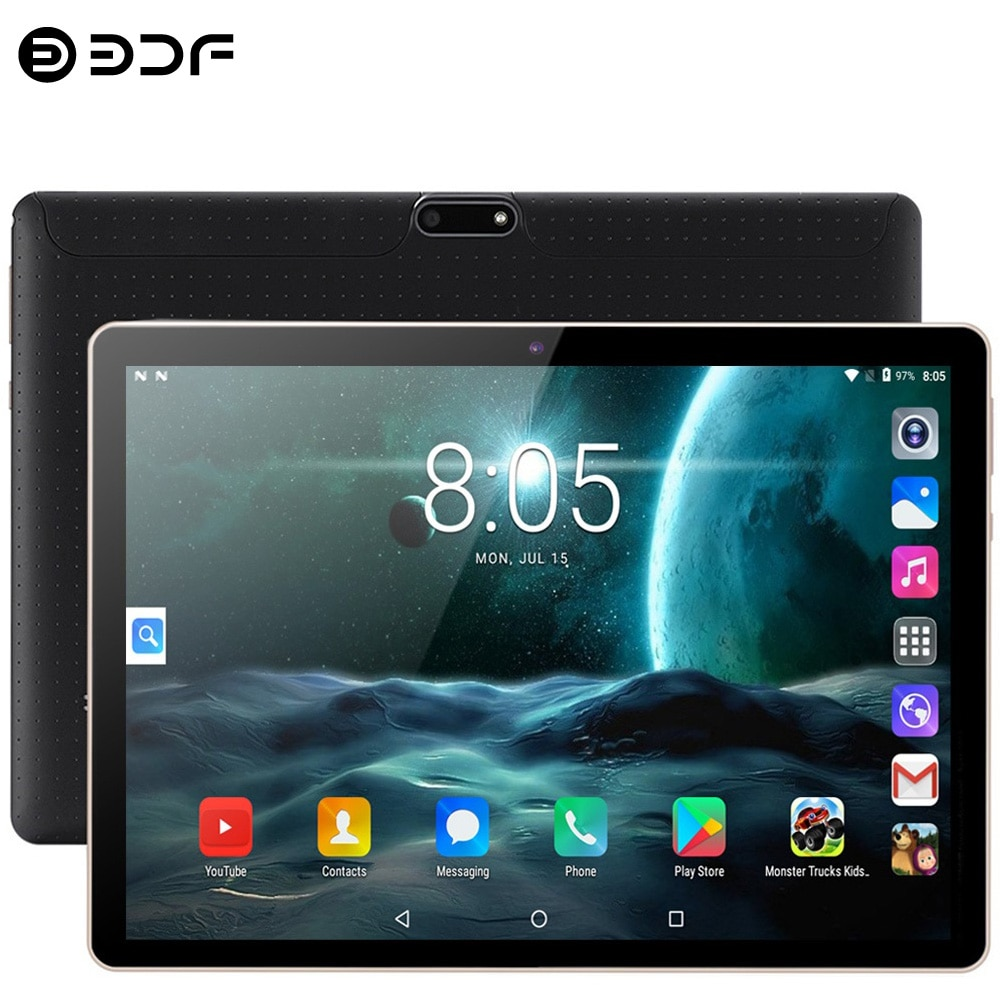 New WiFi Tablet Pc 10.1 Inch 3G Phone Call Android 7.0 Google Market Quad Core 1GB+32GB Tablets Dual