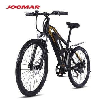 JOOMAR Electric Bike Mountain Bike 500W Ebike Snow Bicycle Sport Beach Cycling 48V 17AH Aluminum Alloy Electronic Bike JM60 Plus