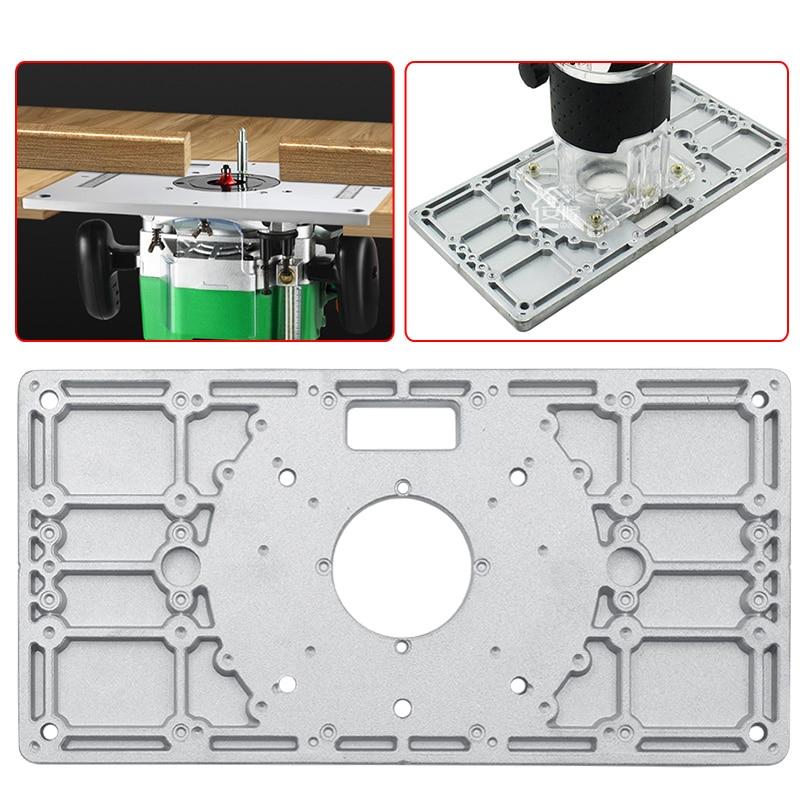 Multifunctionele aluminium freestafel insteekplaat - Houtbewerkingsmachines - Foto 2