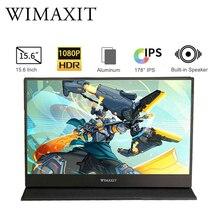 15.6 4K USB 3.1 Typ-C  tragbarer Monitor für Ps4 Switch Xbox Huawei Xiaomi Gaming-Monitor Laptop LCD-Display