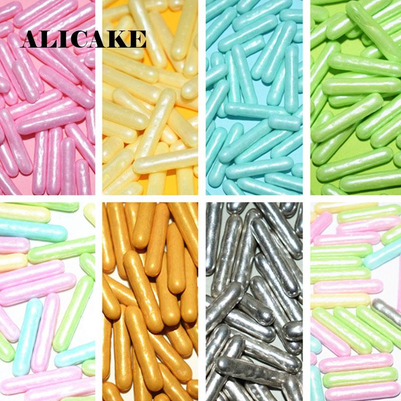 500g Cake Decorating Sugar Sprinkles Round Bar Cube Needle Sprinkle Reposteria Y Pasteleria Accesorios