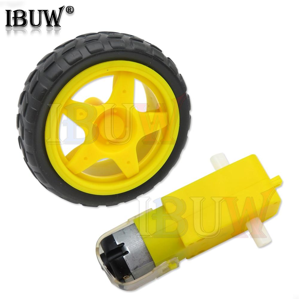 TT Motor Smart Car Robot Gear Motor for arduino DIY Kit Wheels Smart Car Chassis Motor Robot Remote Control