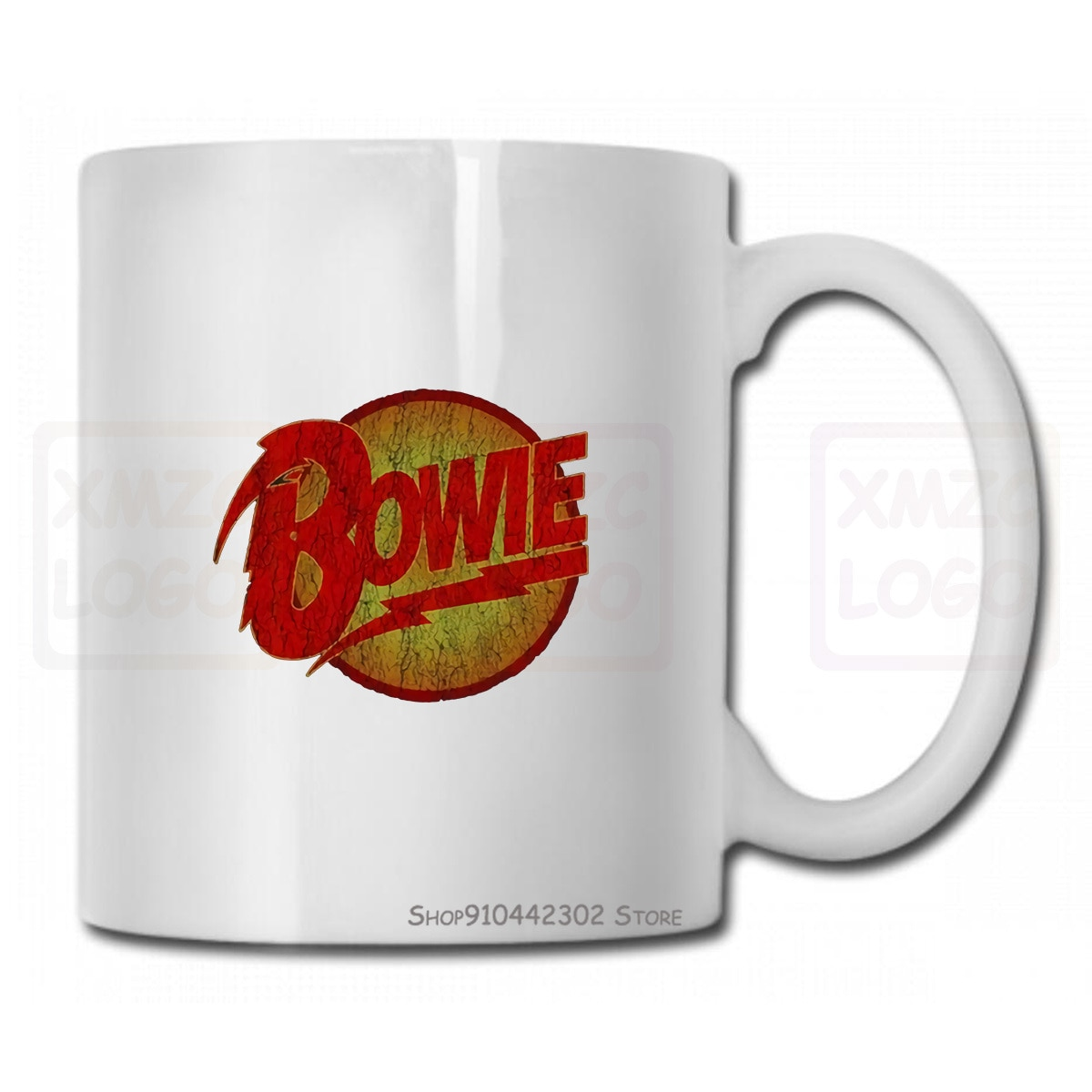 David Bowie, nuevo tazón taza trueno para hombre, Reina, Mickey Jagger, Lou, Reed, Lennon, hombres y mujeres