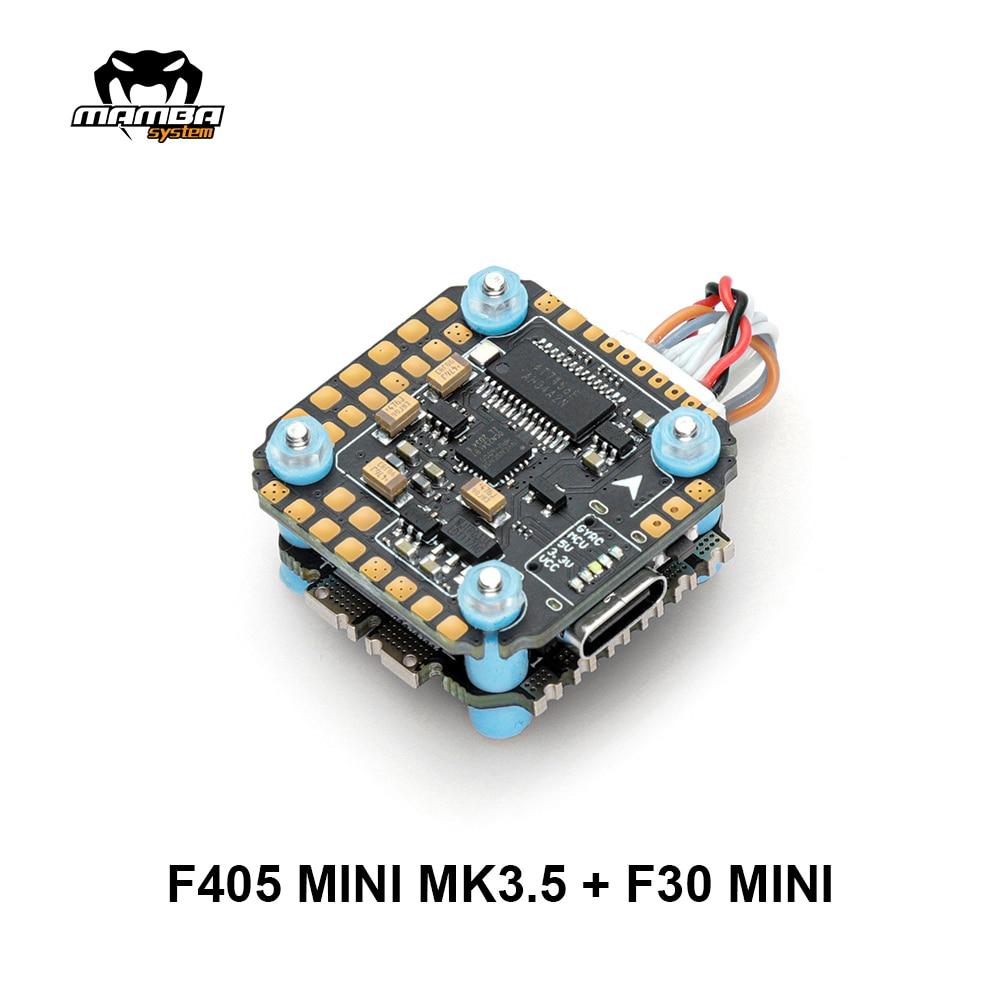 Diatone MAMBA Stack Basic F405 Mini MK3.5 30A 5S 8Bit Flight Controller Stack F4 FC 30A ESC Electronico Speed Controller 20 мм/м2