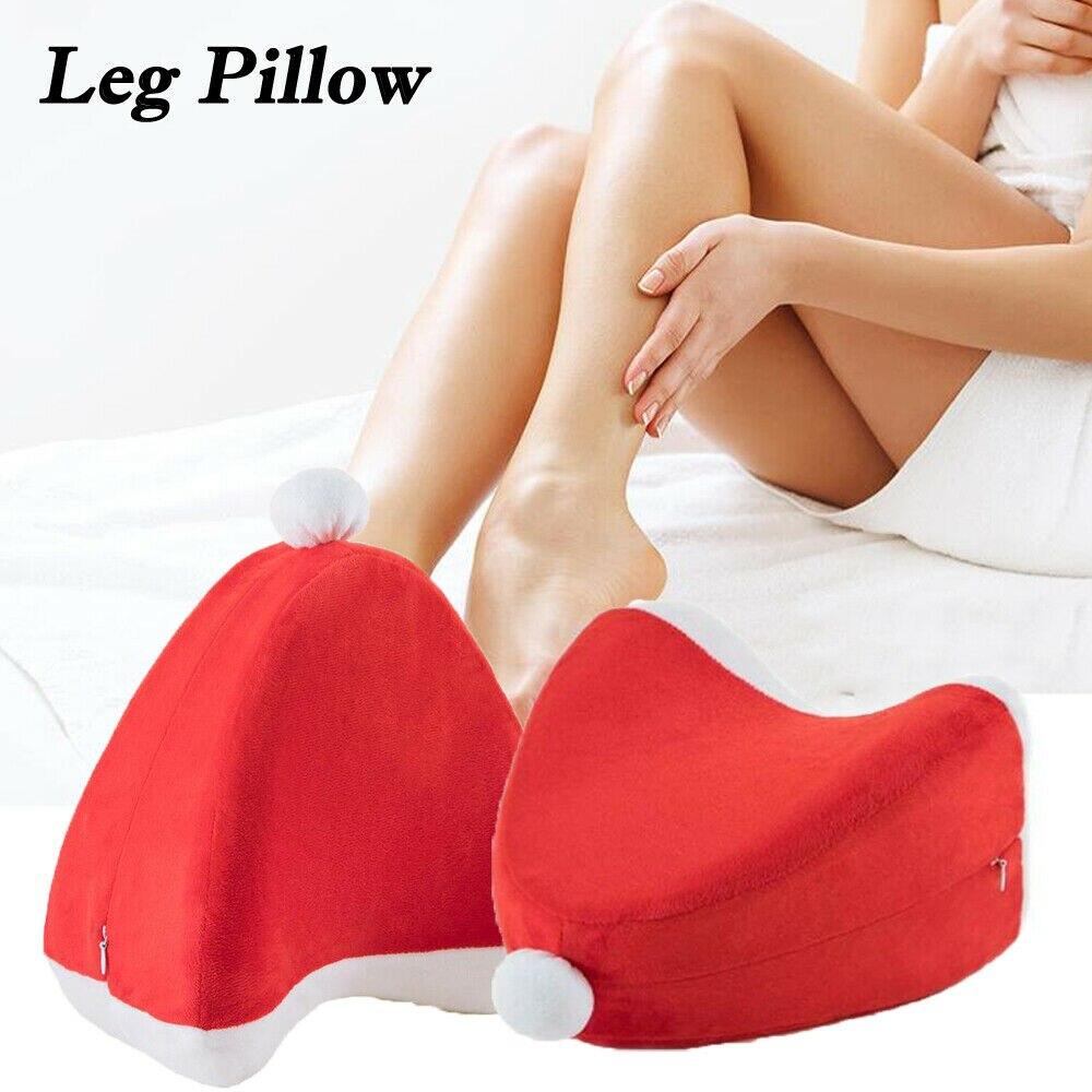 Christmas Knee Pillow Leg Pillow For Sleeping Cushion Support Between Side Sleepers Rest