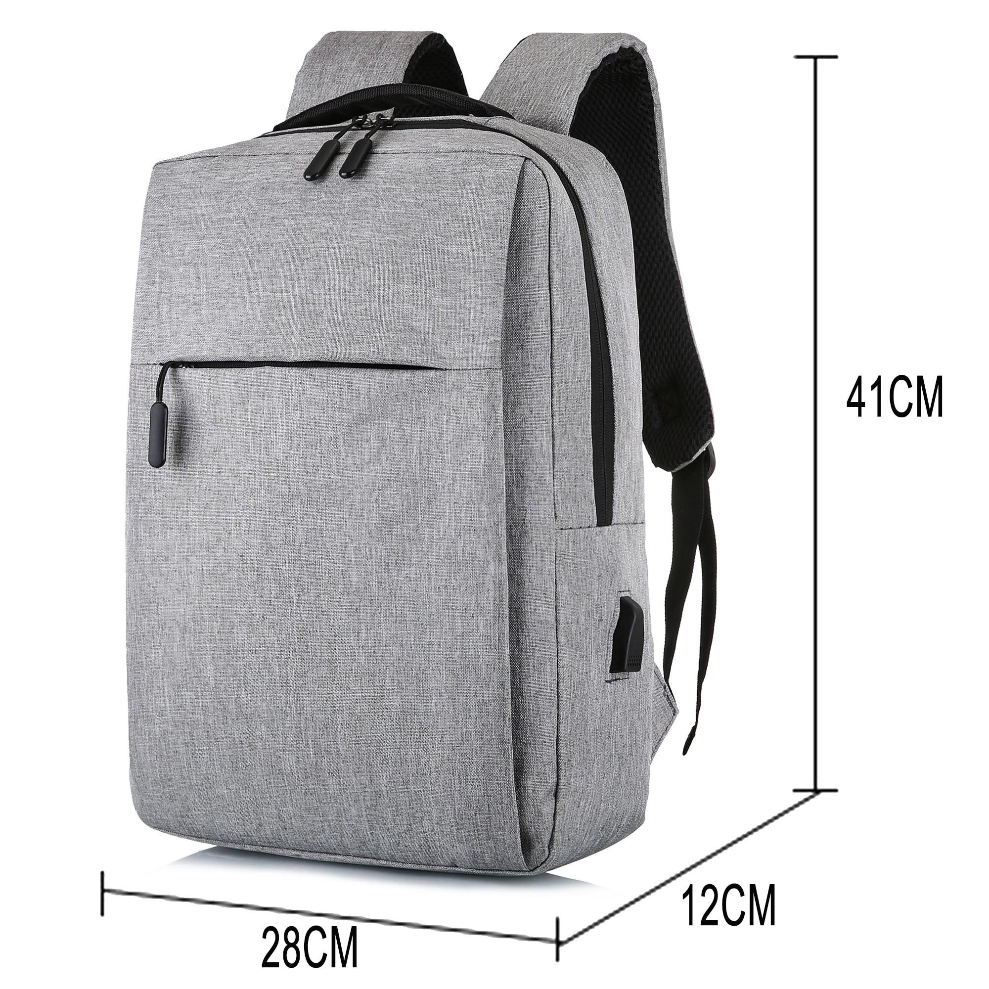 Rucsac pentru laptop cu USB, rucsac antifurt cu rucsac școlar, - Rucsacuri - Fotografie 5