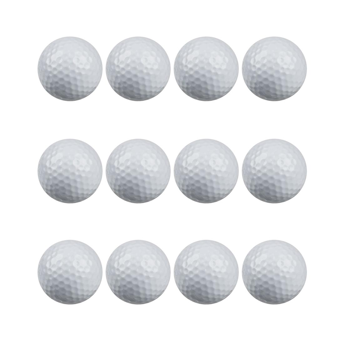 Golfe prática floater bolas pacote de 12 GEFFSQ-01