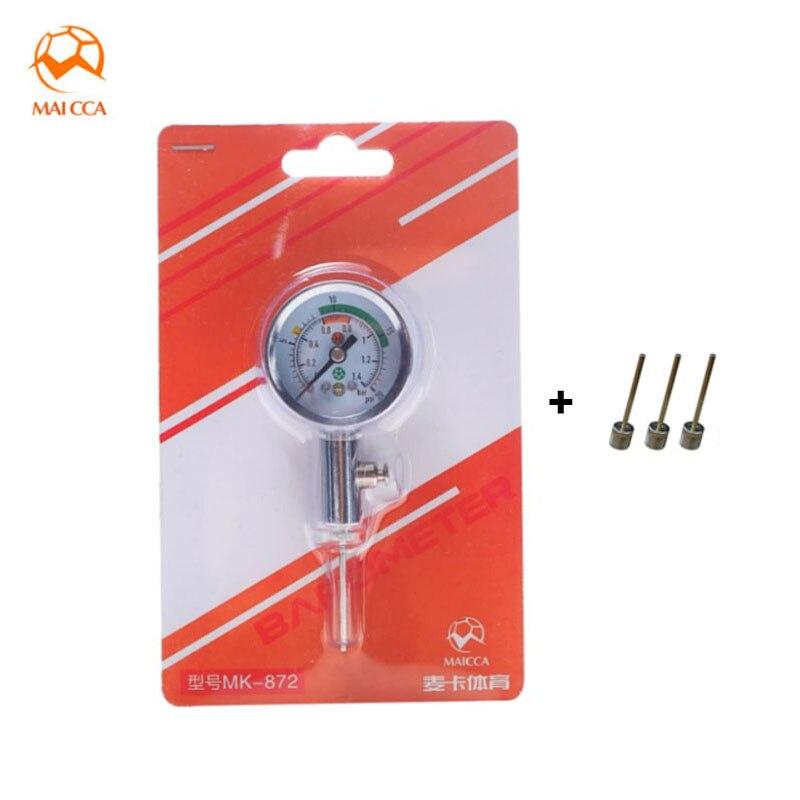 MAICCA барометр для занятий Баскетболом Футбол волейбол спортивные часы рефери шарики Давление датчики мяч газа, измерительные приборы