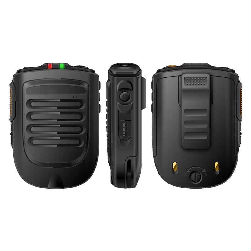 UNIWA BM001 Zello لاسلكي تخاطب يده سماعة لاسلكية تعمل بالبلوتوث PTT اليد ميكروفون ل Alps F40 F22 + F25 الهاتف المحمول زر SOS