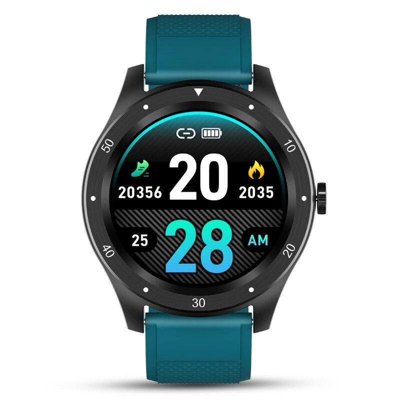 Monitor de Pressão Smartver para Ios Ip67 à Prova Água Relógio Inteligente Homem 2021 Whatch Freqüência Cardíaca Arterial Huawei Honra Telefones Android gt Dip67