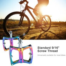 1 пара Road горный велосипед педали широкий плоский MTB Алюминий герметичный подшипник 11*9*2 см