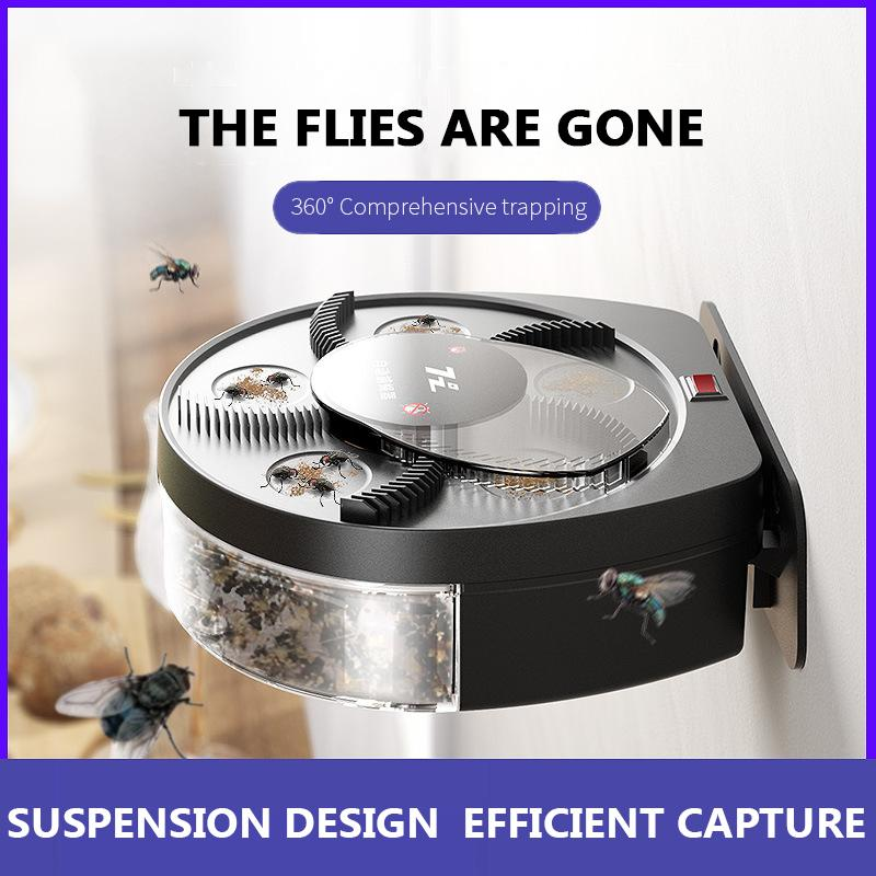 Upgraded USB Electric Fly Trap Automatic Pest Catcher Killer Catching Insect Reject Control