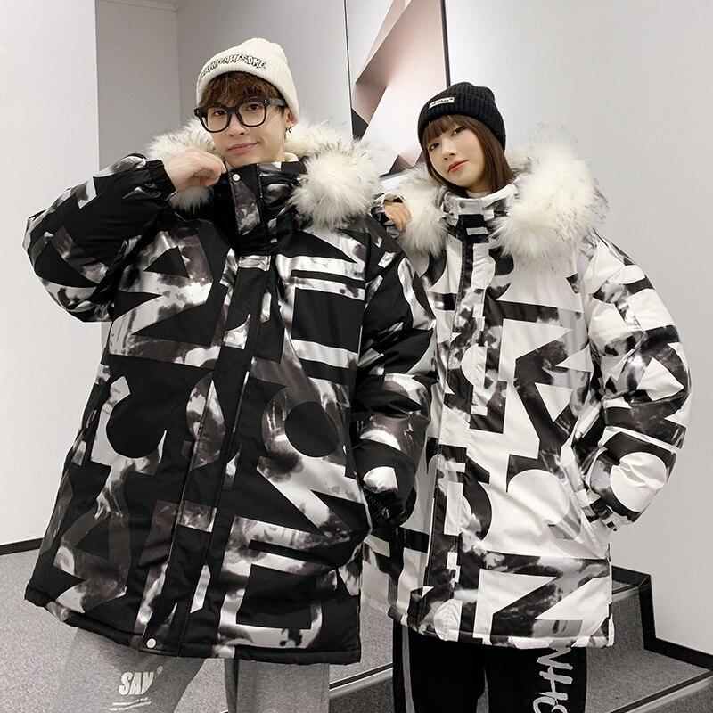 Мужская одежда большого размера 2021, пуховик в подходящем стиле, удлиненная Тяжелая Мужская куртка с капюшоном, свободная теплая зимняя курт...