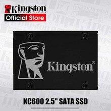 Kingston NEW KC600 Internal Solid State Drive 256GB 512GB SATA 3 2.5 inch Hard Disk HD 3D TLC NAND 1024GB SSD For laptop