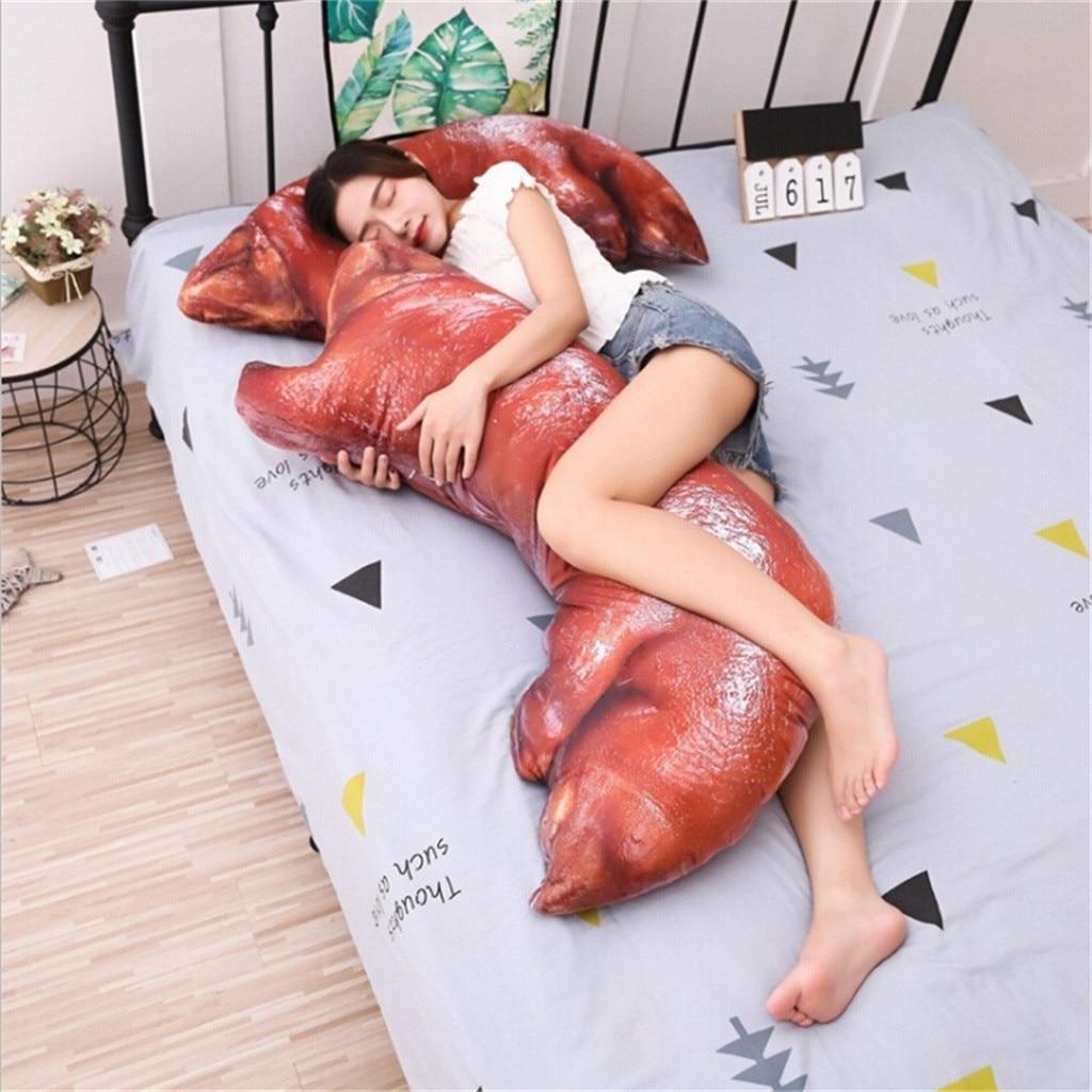 20CM + 50CM cochon Simulation trotters coussin drôle mignon oreiller amusant garantie jouet en peluche beau cadeau pour bébé petite amie cadeau