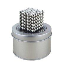 Aimant magique blocs magnétiques boules bricolage sphère Cube perles jouets de construction loisirs décompression Cube magique jouets
