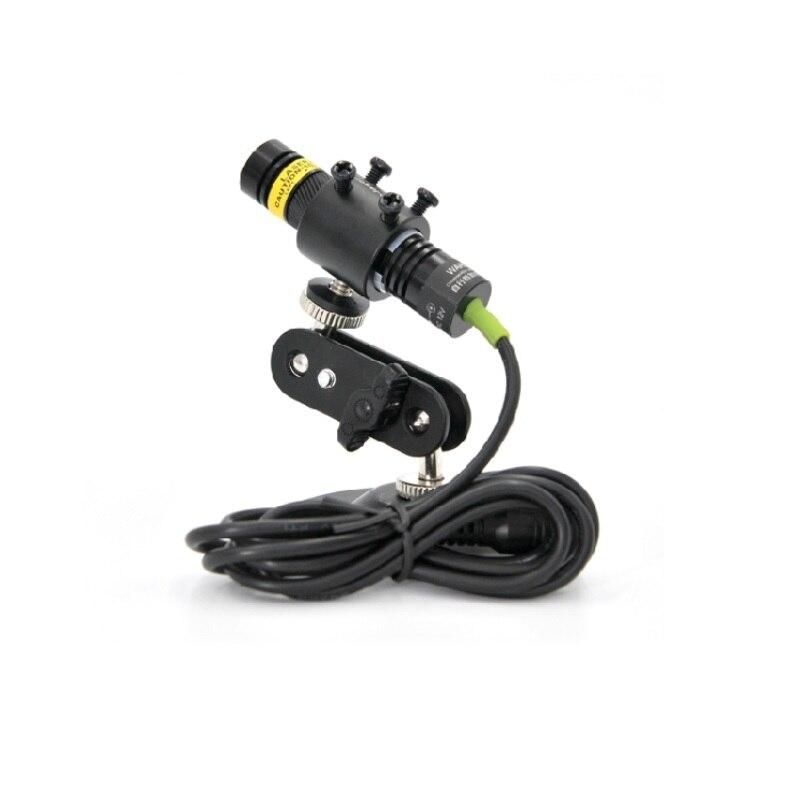 Фокусируемый 515 нм 30 мВт 12 В зеленый лазер диод модуль линия генератор для лазера болота резки станка локатора