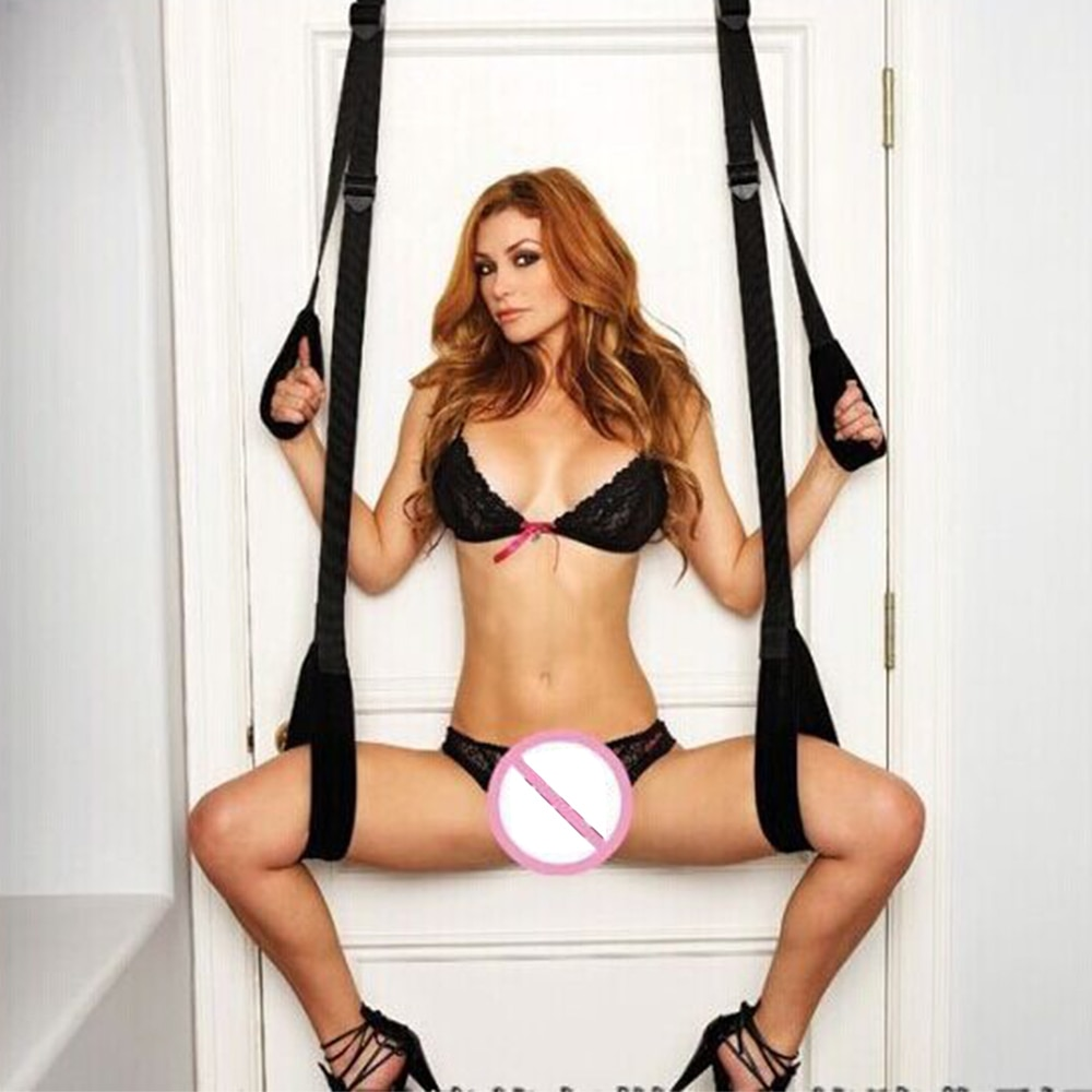 Door Swing Sex Swing SM Game Bondage Swing Spreader Leg Open For Women Adult sex game products for C