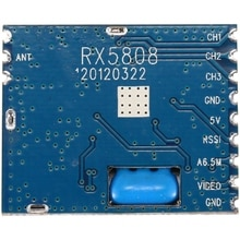 5.8G FPV Mini Wireless o Video Receiver Module RX5808 for FPV System RC Helicopter RC Parts