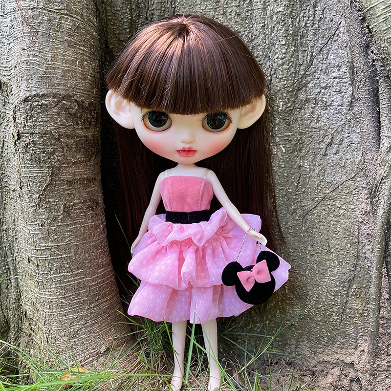 Blyth Doll Clothe Blyth Outfit Suit for 1/6 BJD Licca Body Suit Toy Girl Gift for Doll Customized недорого