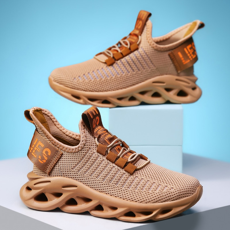 Calzado informal antideslizante para niños, zapatillas para niños, zapatillas para niñas, zapatillas para niños, zapatillas para correr, zapatillas de entrenamiento ligeras, calzado deportivo a la moda
