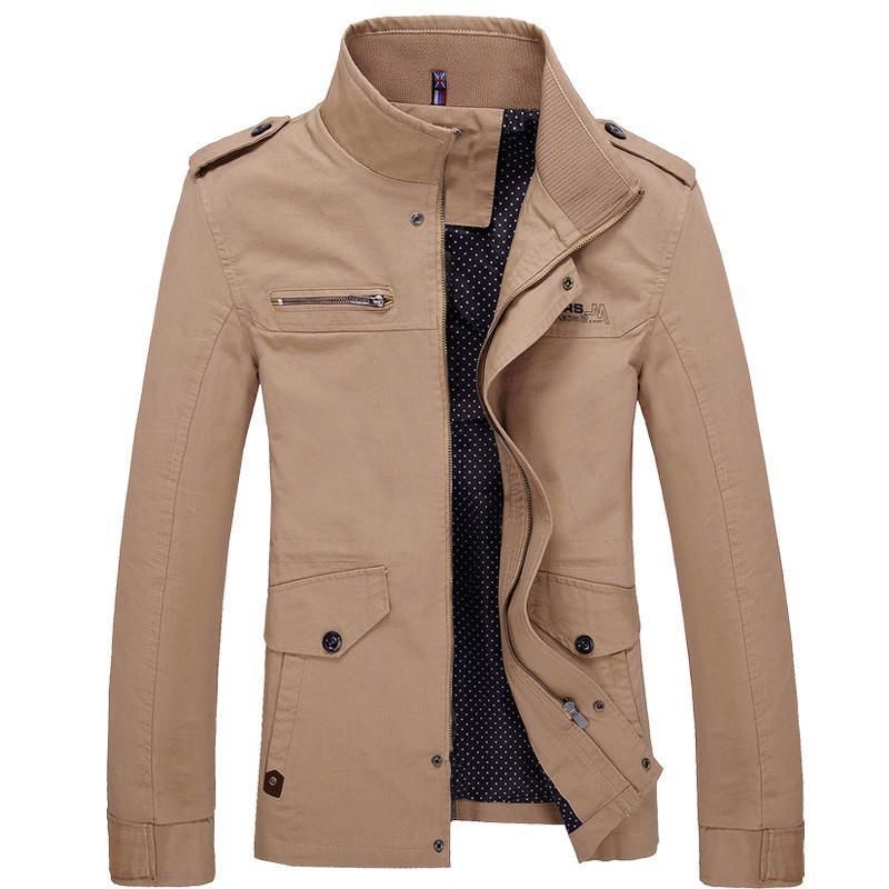 Мужское пальто, новая модная куртка-штормовка для девочек; Осеннее пальто; Новое Брендовое повседневное мужское куртка мужская куртка-бомб...