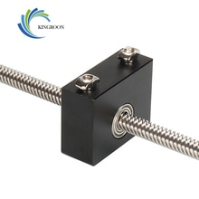 KingRoon 3D Drucker Upgrade Aluminium Z-Achse Spindel Halterung für CR-10/CR-10S Ender 3/Ender 3Pro Metall Z-Stange Lager Halter