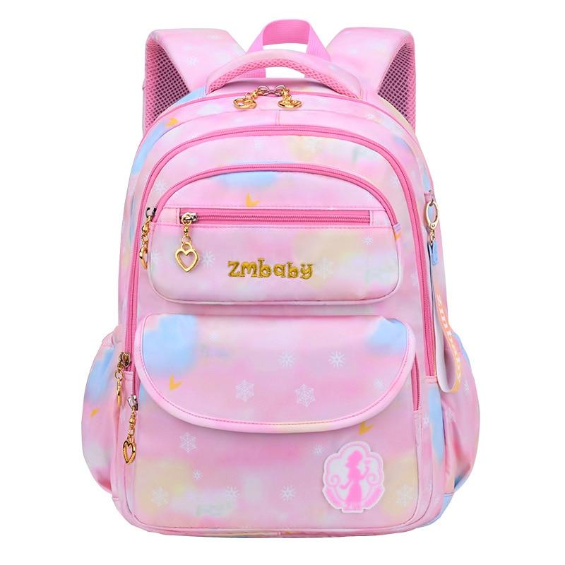 Милые детские школьные сумки для девочек детский ортопедический школьный рюкзак Водонепроницаемый рюкзак для девочек детские школьные су...