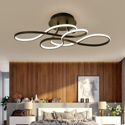 Moderno led luz de teto AC85-265V sala estar quarto varanda varanda restaurante ventiladores luz teto ligting