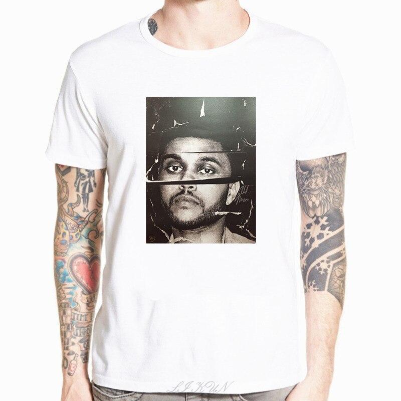 Camiseta blanca Weeknd Cut Beauty behinder The Madness, camiseta nueva, camiseta Casual de verano para Starboy Xo